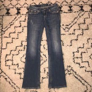 Medium Wash Miss Me Bootcut Jeans